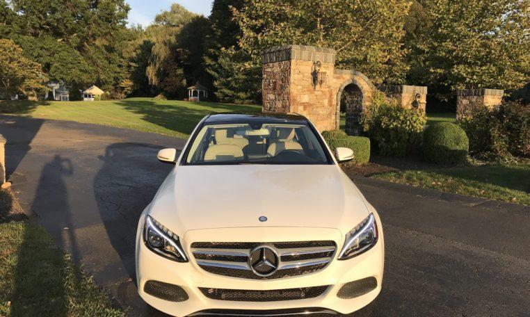 Mercedes C300 Front