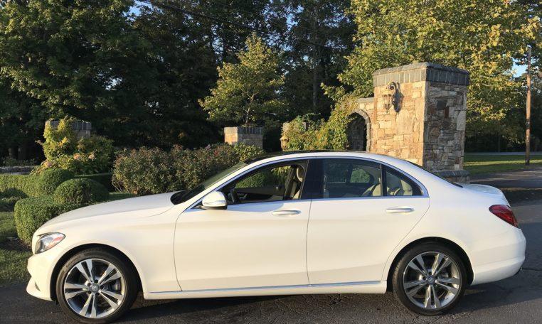 Mercedes C300 Side