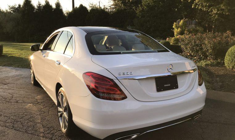Mercedes C300 Rear