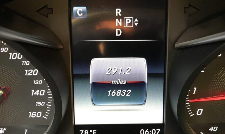Mercedes C300 Odometer