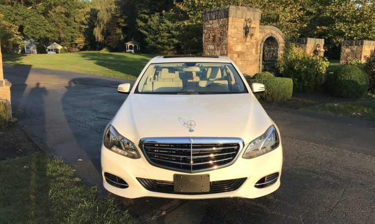 Mercedes E350 Front