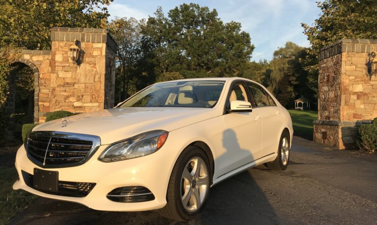 Mercedes E350 Front and Side