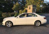 Mercedes E350 Side