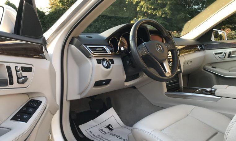 Mercedes E350 Drivers Seat